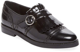 Isa Tapia Ali Fringe Leather Monkstrap