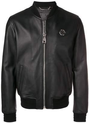 Philipp Plein logo zip jacket
