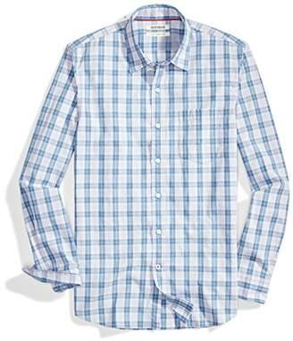 Goodthreads Men's Slim-Fit Long-Sleeve Poplin Plaid Shirt