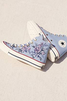 Converse Embroidered High Top Chuck Sneaker