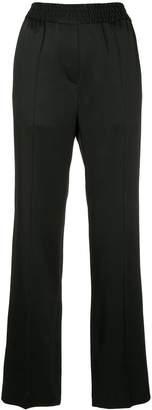 Haider Ackermann elasticated waist straight-leg trousers