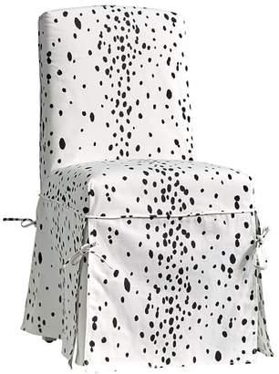 Pottery Barn Teen Slipcover Desk Chair, Dalmatian Slipcover + Insert