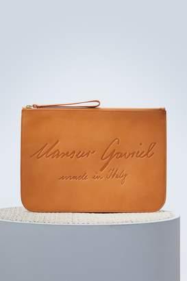 Mansur Gavriel Vegetable-tanned large wallet