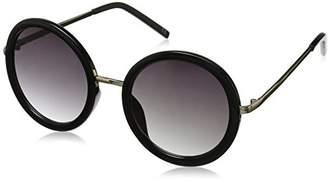 Foster Grant Women's Tyra 10232843.COM Round Sunglasses