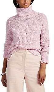 Sukie Sies Marjan Women's Bouclé Turtleneck Sweater - Pink