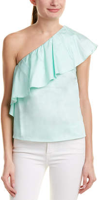 Do & Be DO+BE Do+Be One-Shoulder Ruffle Top