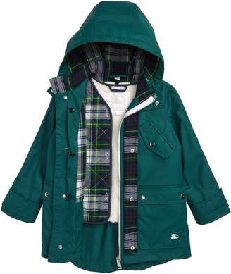 Burberry Liam Hooded Coat