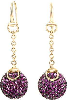 18K Ruby Earrings