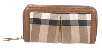 Burberry Exploded Check Continental Wallet