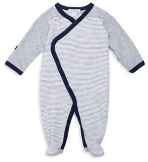 Baby's Winter Mix Kimono Footie