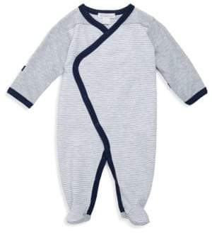 Kissy Kissy Baby Boy's Winter Mix Kimono Footie
