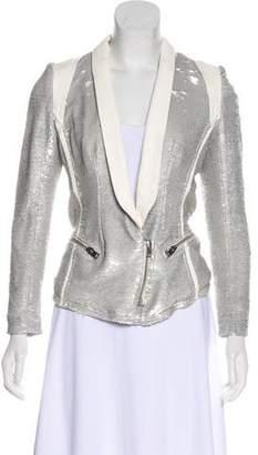 IRO Long Sleeve Sequined Blazer