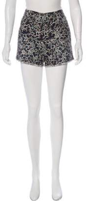 Etoile Isabel Marant Mid-Rise Mini Shorts