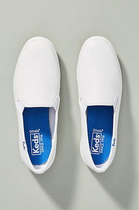 Keds Champion Leather Slip-On Sneakers