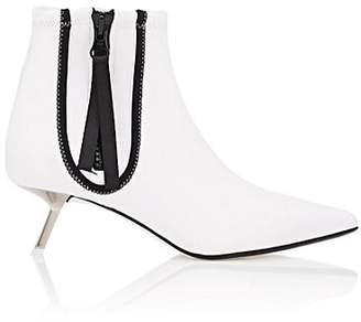 Ballin ALCHIMIA DI Women's Perca Rubber & Neoprene Ankle Boots - White