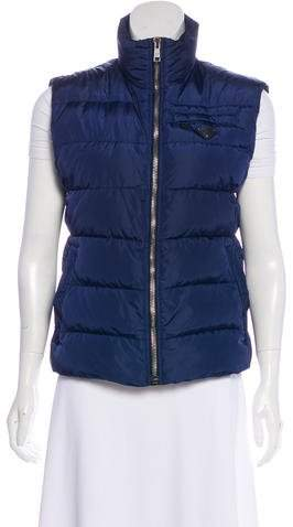 Prada Quilted Down Vest