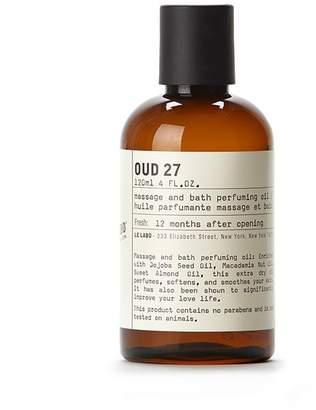 Le Labo Oud 27 Body Oil
