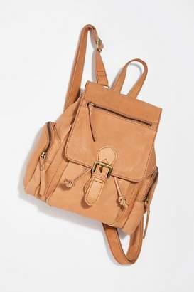 MONICA Cut N Paste Santa Leather Backpack
