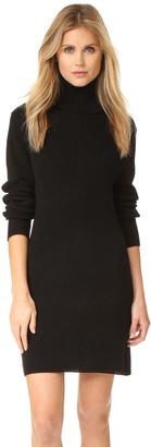 525 America Cotton Shaker Sweater Dress $97 thestylecure.com