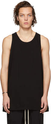 Rick Owens Black Loose Tank Top