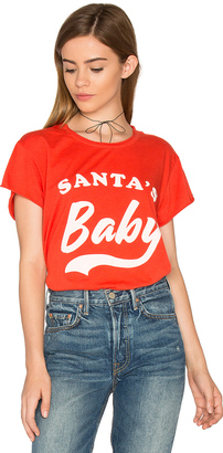 The Laundry Room Santa's Baby Rolling Tee $54 thestylecure.com