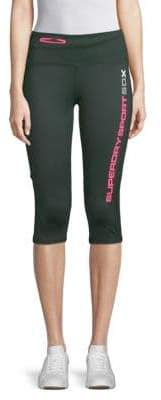 Superdry Cross Capri Leggings