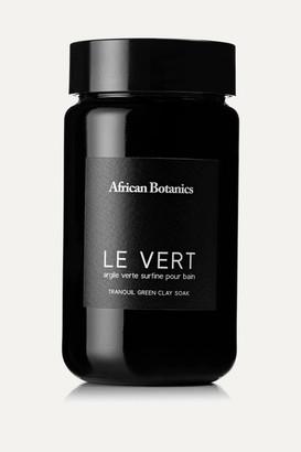 African Botanics Le Vert Tranquil Green Clay Soak, 500g