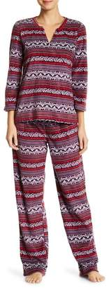 Maidenform Fleece PJ Set