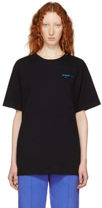 Off-White Black Gradient Slim Fit T-Shirt