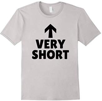 Being Short Can Be Fun Size Very Short Tshirt