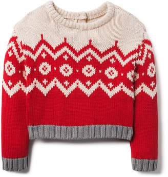 Crazy 8 Crazy8 Toddler Fair Isle Sweater