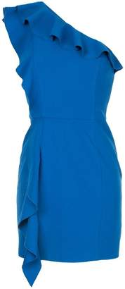 Rebecca Vallance Caspian One Shoulder mini dress