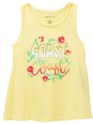 Nautica Coast To Coast Tank Top (Big Girls)
