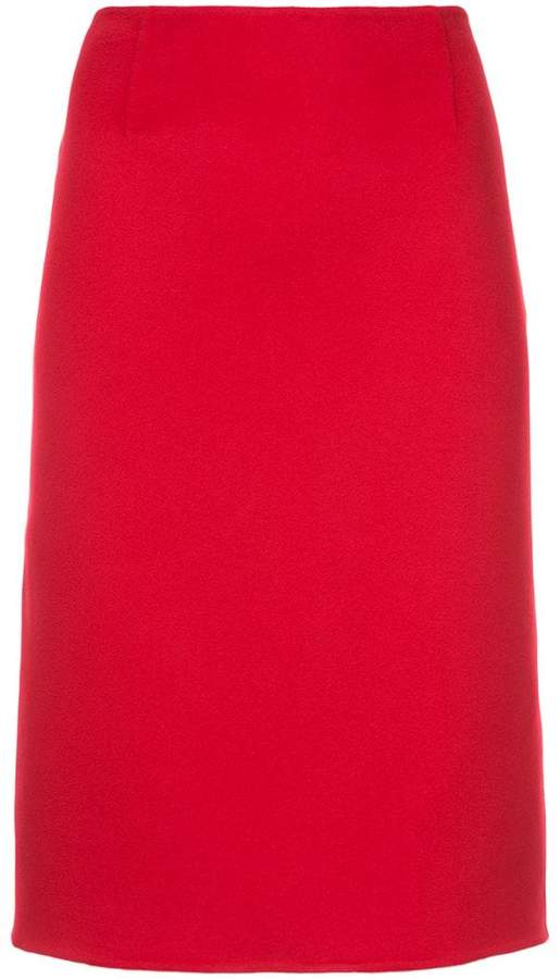 Ralph Lauren Collection fitted midi skirt