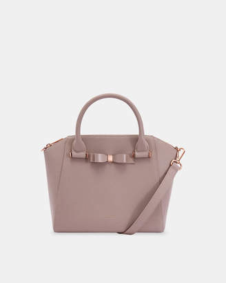 Ted Baker JAELYNN Bow detail zip tote
