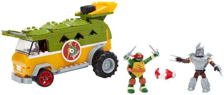 Mega Bloks Teenage Mutant Ninja Turtles Party Wagon Building Kit