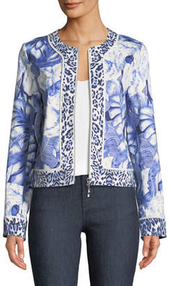 Berek Rainforest Zip-Front Jacket, Plus Size