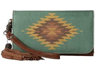 M&F Western Zapotec Flap Wallet