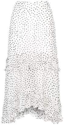 Keepsake The Label Moonshine Pleated Frill Midi Skirt