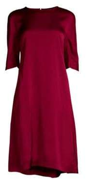 Max Mara Teorema Drop Waist Shift Dress