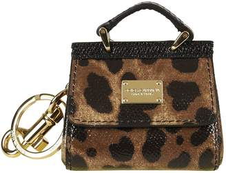 Dolce & Gabbana Sicily Mini Bag Keyring
