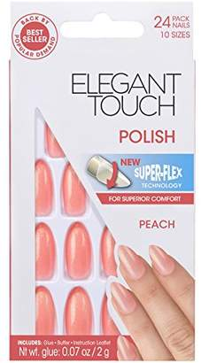 Elegant Touch Polished Nails, Peach by