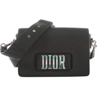 Christian Dior Dio(r)evolution Black Leather Clutch Bag