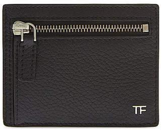 Tom Ford Card Holder Grained Black