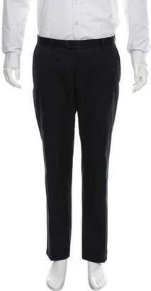 Dries Van Noten Woven Flat Front Pants
