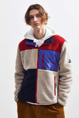 Penfield Colorblock Zip-Up Fleece Jacket