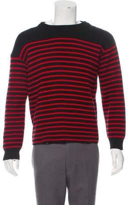 Saint Laurent Woven Striped Sweater