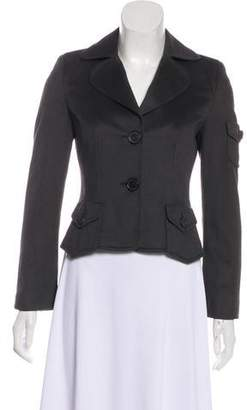 Akris Punto Cropped Wool Coat