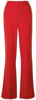 Alice + Olivia Alice+Olivia high-rise flared trousers