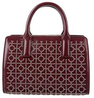 Tory Burch Mini Studded Leather Satchel